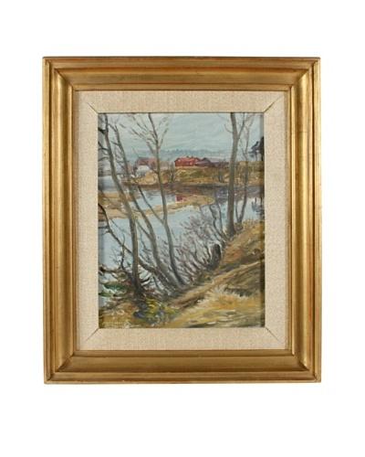 Fredericia, 1930 Framed Artwork