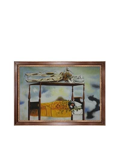 "Frida Kahlo's ""The Dream"" Framed Reproduction Oil Painting"