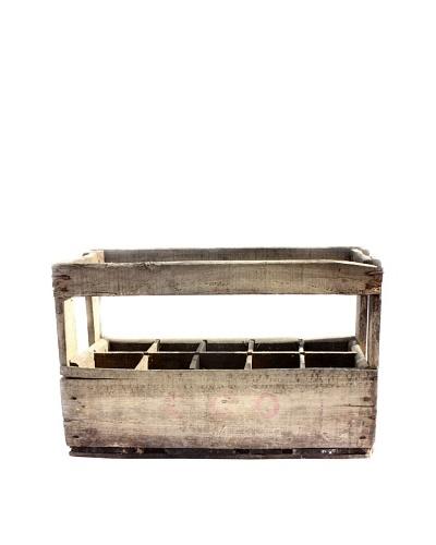 "Vintage Wine Crate ""CCO"""