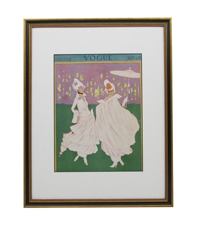 Original Vogue Cover from 1914 by Helen Dryden