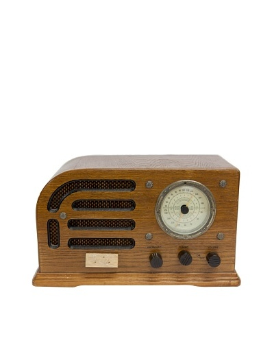 Vintage Crosley Radio, Brown