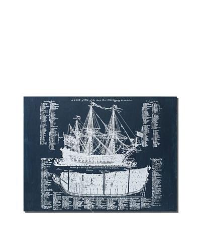 Cobalt Ship Diagram, 18 x 24