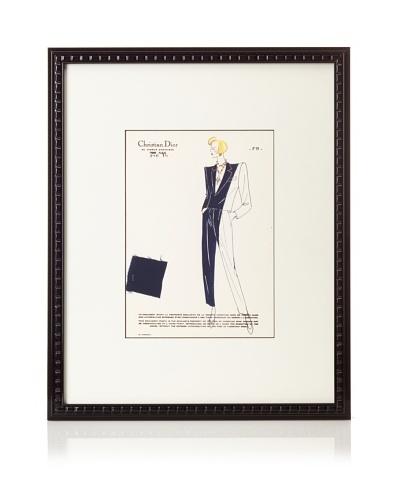 Christian Dior Fashion Sketch