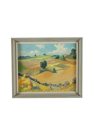 La Rochelle Framed Landscape