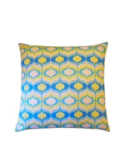 Copela Throw Pillow, Blue