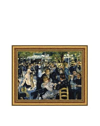 Pierre-Auguste Renoir Le Moulin de la Galette, 1876 Framed Canvas, 18 x 24