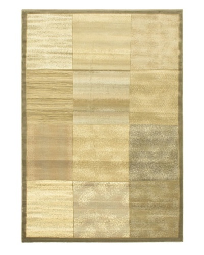 Alicante Rug, Khaki/Light Yellow, 5' 3 x 7' 7