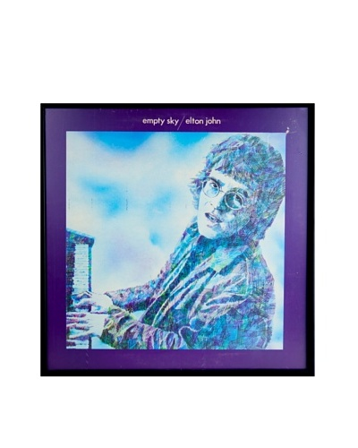 Elton John: Empty Sky Framed Album Cover