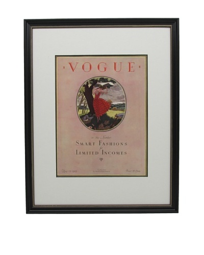 Original Vogue Cover from 1923 by Leslie Saalburg