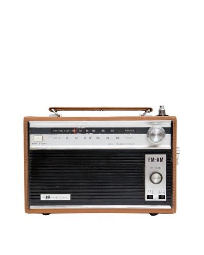 Bradford Radio, Tan, 3x10x7
