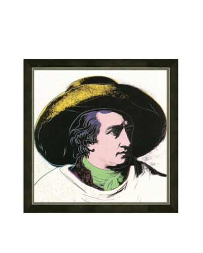 Andy Warhol: Goethe Black and Yellow