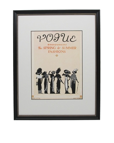 Original Vogue Cover from 1911 by Jessie Gillespie