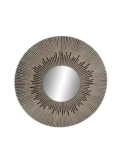 Capiz Circular Mirror