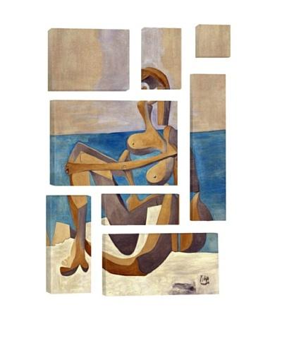 Pablo Picasso Seated Bather 8-Piece Giclée Canvas Print
