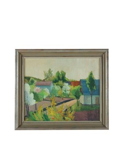 Albert Kruger 1945 Framed Landscape
