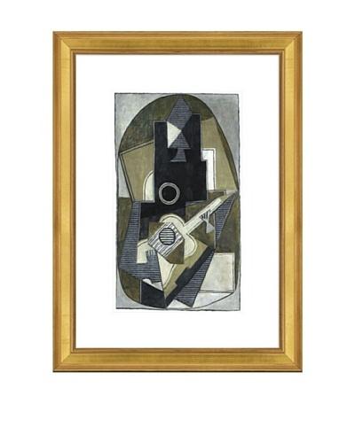 Pablo Picasso L'Homme a la Guitare, 1918 Framed Art