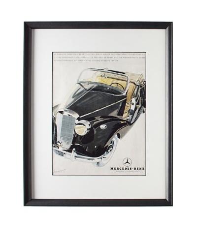 Original French Mercedes-Benz Advertisement by Walter Gotschke, 1950