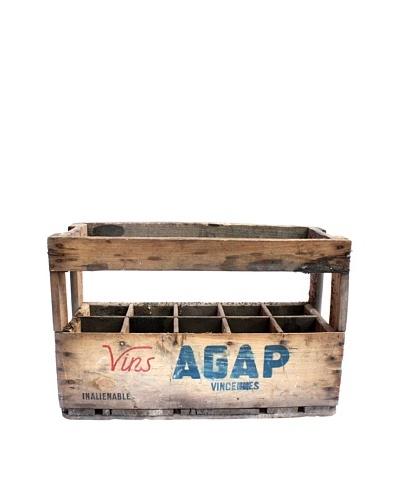 Vintage Wine Crate Vin AGAP