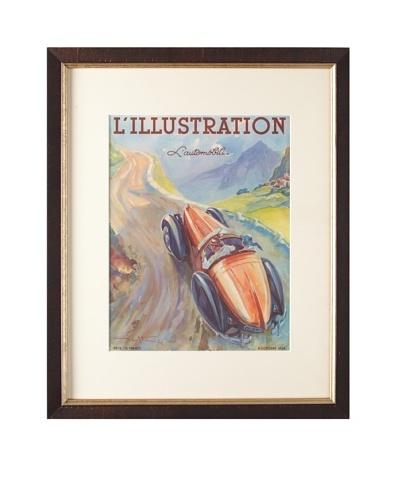 Original French L'Illustration Magazine Cover by Geo Ham, 1938