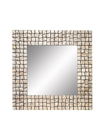 Square Capiz Mirror