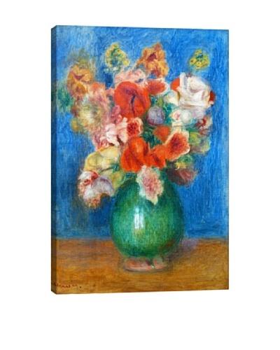 Pierre-Auguste Renoir's Vase with Flowers Giclée Canvas Print