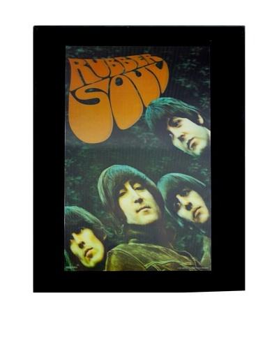 The Beatles Rubber Soul Framed 3-D Hologram Poster