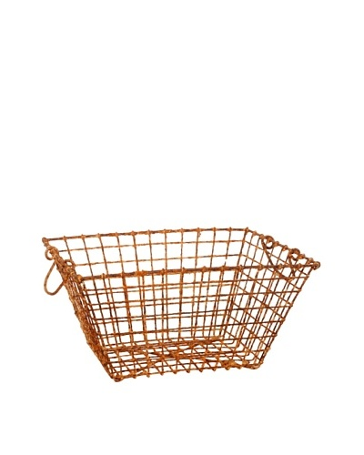 French Oyster Basket, Brown