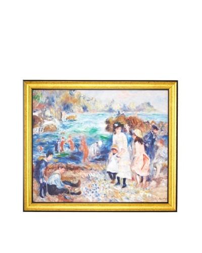Pierre-Auguste Renoir: Children on the Seashore, Guernsey (Enfants au bord de la mer à Guernesey), 1...