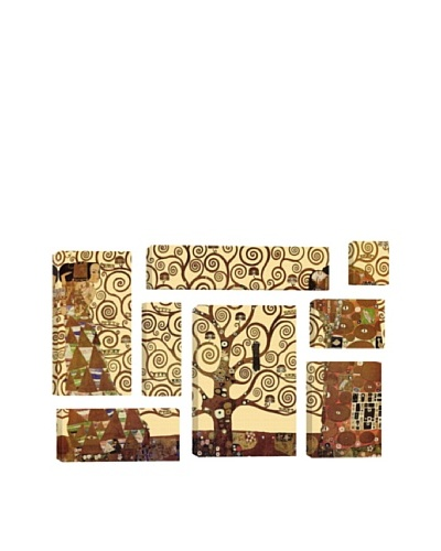 Gustav Klimt The Tree of Life 8-Piece Giclée Canvas Print