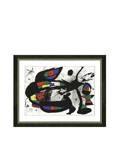 Joan Miró: Original Lithograph, 1978