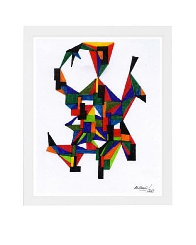 Manuel Roman Three Dimensional Framed Art, Multi