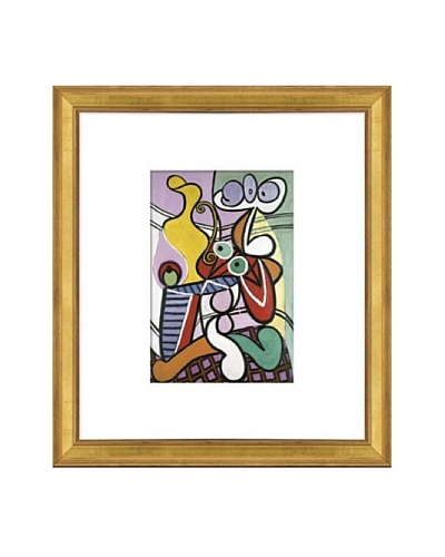 Pablo Picasso Large Still Life with Pedestal Table Framed Art