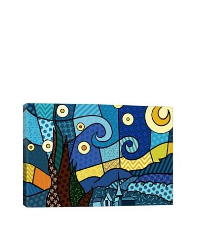 Starry Night 2 (After Vincent Van Gogh) Canvas Giclée Print