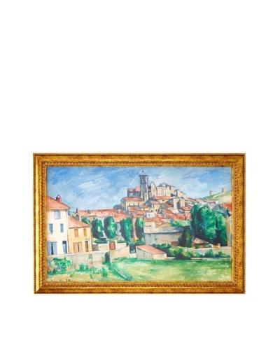 Paul Cézanne: Gardanne (Horizontal View) (Gardanne (vue horizontale)), 1885As You See