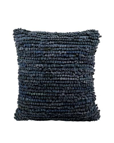 Joseph Abboud Full Loop Pillow, Blue, 20 x 20