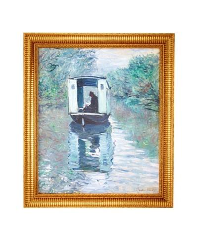 Claude Monet: The Studio Boat (Le Bateau-atelier), 1876