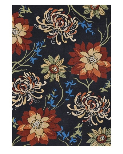 Sunshine Collection Indoor/Outdoor Rug [Black]