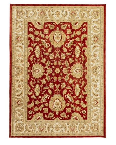 Lotus Garden Traditional Rug, Dark Copper, 7' 7 x 10' 6