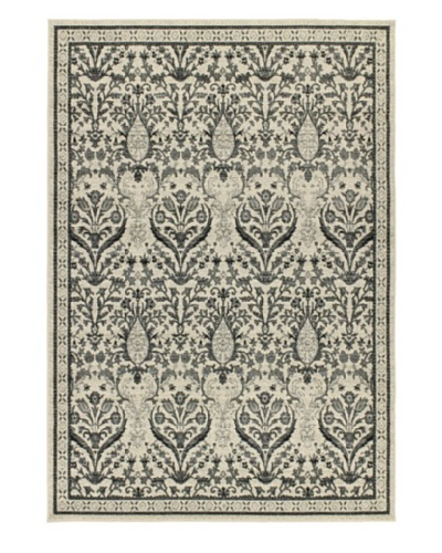 Classic Jardin Traditional Rug, Grey, 4' 7 x 6' 5