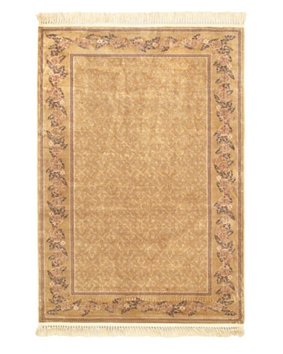 "Persian Traditional Rug, Beige, 4' 7"" x 6' 7"""