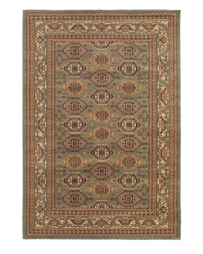Royale Rug, Copper/Green, 5' 3 x 7' 7