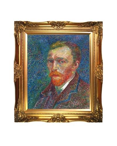 Vincent Van Gogh Self Portrait Framed Oil Painting