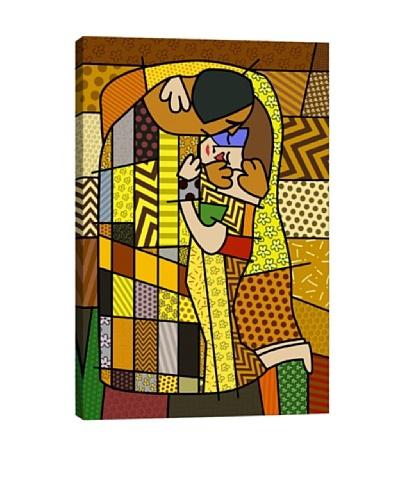 The Kiss 2 (After Gustav Klimt) Canvas Giclée Print