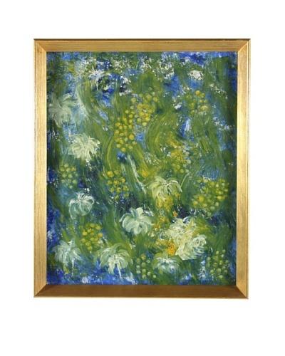 Antonie Bast Floral, 1973 Framed Artwork