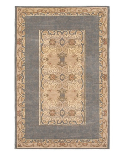 Royale Rug, Gray/Ivory, 5' x 7' 5