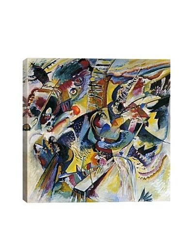 Wassily Kandinsky's Improvisation Klamm Giclée Canvas Print