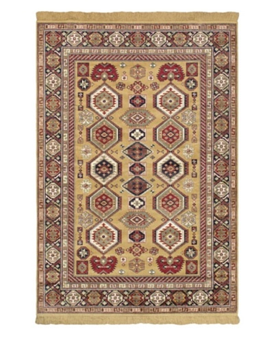 Soraya Traditional Rug, Light Gold, 4' 4 x 6' 4