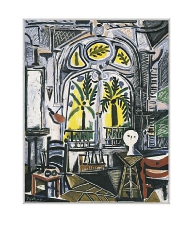 Pablo Picasso The Studio, 1955 Framed Art