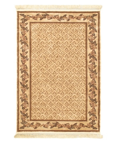 Persian Rug, Beige, 4' 7 x 6' 7
