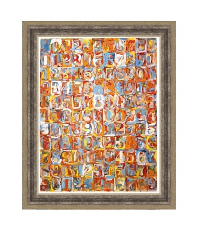 Jasper Johns: Numbers in Color